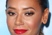 Melanie Brown Red Lipstick