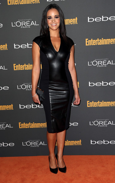 Melissa Fumero Leather Dress