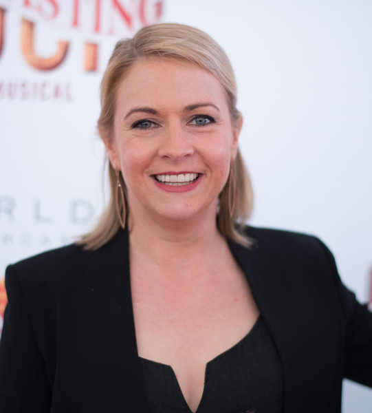 Melissa Joan Hart Half Up Half Down [tuck everlasting,hair,face,blond,white-collar worker,businessperson,smile,official,melissa joan hart,curtain call,broadway,new york city,the broadhurst theatre,opening night - arrivals,opening night]