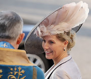Sophie Countess of Wessex's decorative hat made a major statement.