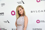 Mena Suvari Beaded Dress