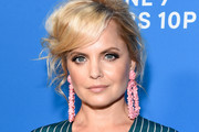 Mena Suvari Beaded Hoops