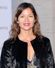 Jill Hennessy wore her hair down with gentle waves when she attended the 'Eugene Onegin' opening.
