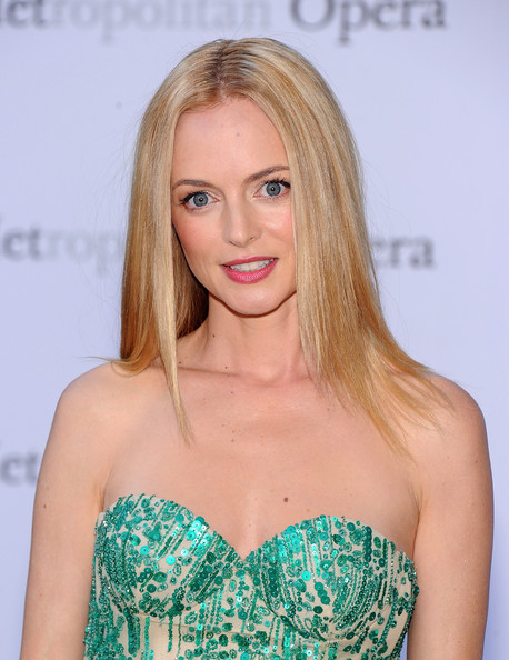 More Pics of Heather Graham Long Straight Cut (6 of 8) - Heather Graham Lookbook - StyleBistro