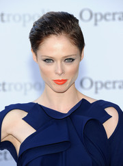 Coco Rocha looked cool with her slicked-back 'do at the 'Eugene Onegin' opening.