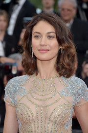 Olga Kurylenko looked sweet with her high-volume curls at the Cannes Film Festival screening of 'The Meyerowitz Stories.'