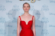 Mia Wasikowska Form-Fitting Dress