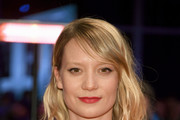 Mia Wasikowska Medium Wavy Cut with Bangs
