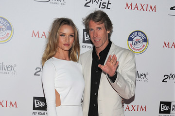 Michael Bay Rosie Huntington-Whiteley 2011 Maxim Hot 100 Party - Arrivals
