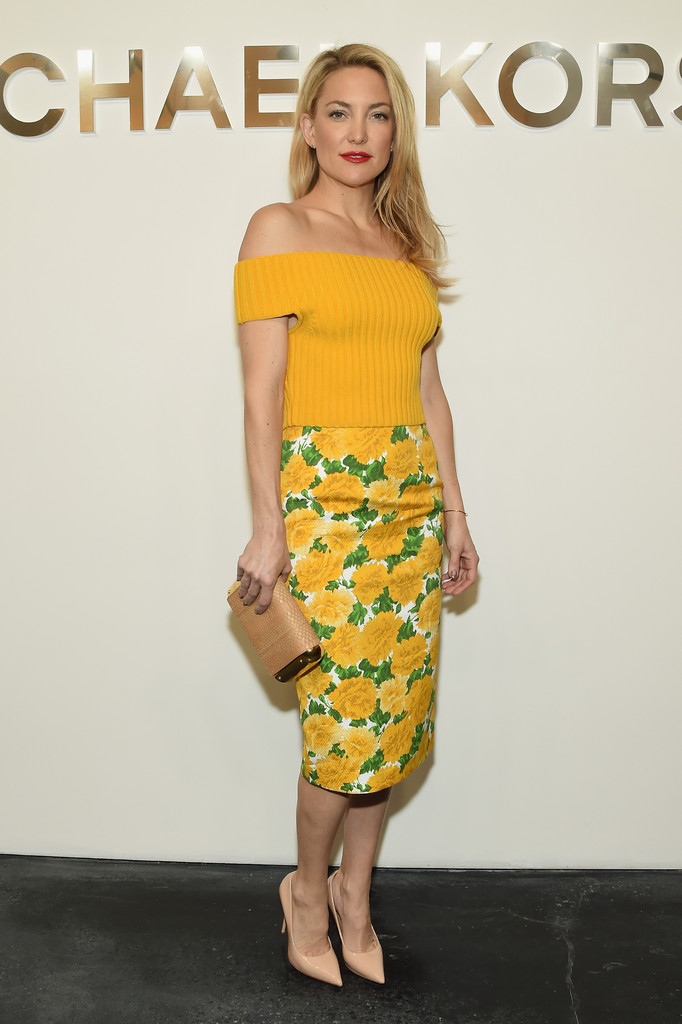 Look of the Day, February 18th: Kate Hudson's Bright ...