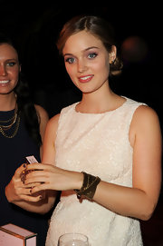 Bella Heathcote wore a gorgeous wraparound bracelet at the 8th Annual Teen Vogue Young Hollywood Party.