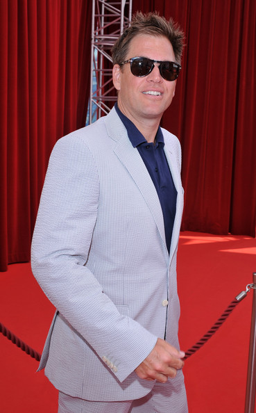 Michael Weatherly Aviator Sunglasses