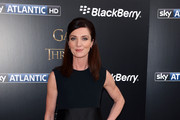 Michelle Fairley Little Black Dress