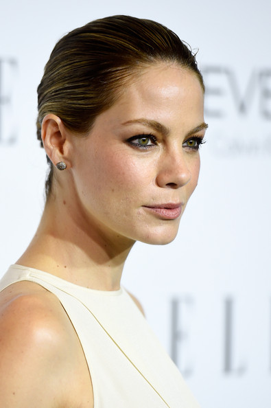 Michelle Monaghan Sterling Studs [michelle monaghan,21st annual women in hollywood - arrivals,hair,face,eyebrow,hairstyle,chin,skin,lip,beauty,shoulder,nose,beverly hills,21st annual women in hollywood,four seasons hotel,california,los angeles,elle]
