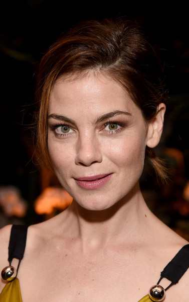 Michelle Monaghan Messy Updo