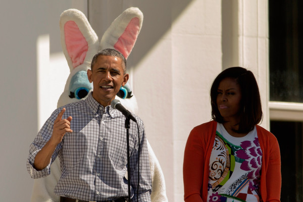 White House Hosts Annual Easter Egg Roll On The South Lawn