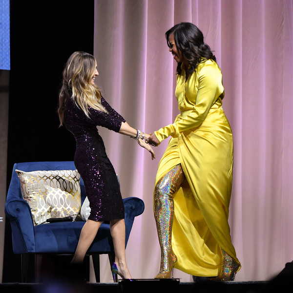 Michelle Obama Over the Knee Boots