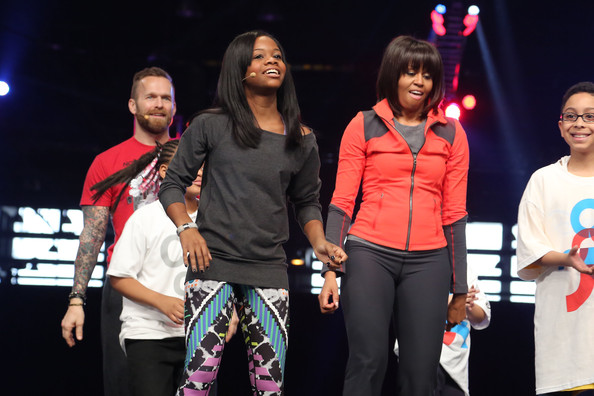 More Pics of Michelle Obama Sports Pants (1 of 23) - Pants & Shorts Lookbook - StyleBistro