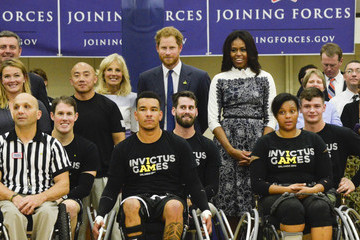 Michelle Obama Jill Biden Joining Forces Invictus Games 2016 Launch Event