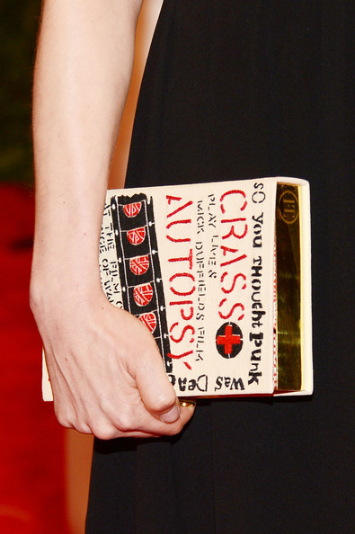 Michelle Williams Hard Case Clutch
