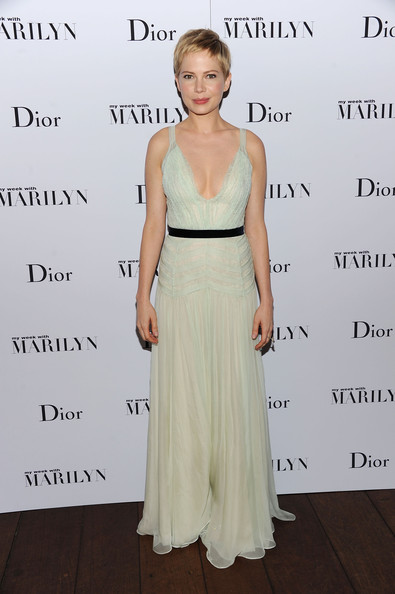 Michelle Williams Evening Dress