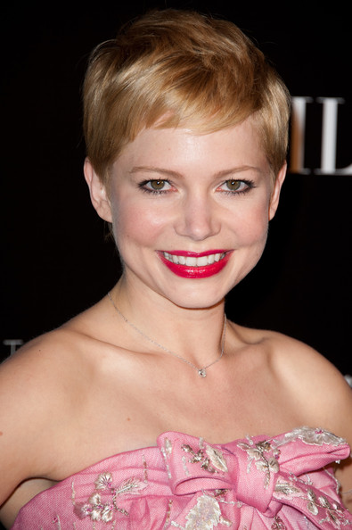 Michelle Williams Bright Lipstick