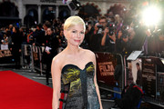 Michelle Williams Strapless Dress