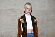 Michelle Williams Suede Jacket