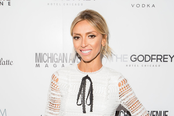 Giuliana Rancic sported a messy-chic updo at the Michigan Avenue Spring Fashion issue celebration.