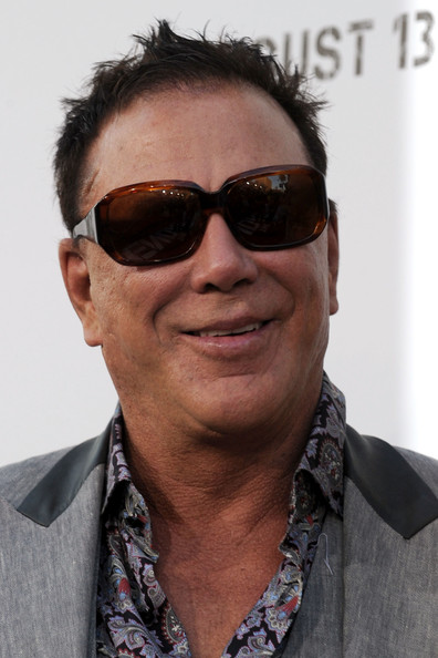 Mickey Rourke Square Sunglasses