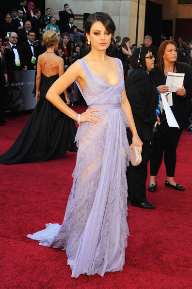 Mila Kunis Evening Dress