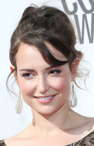 Milana Vayntrub Dangle Decorative Earrings