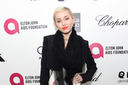 Miley Cyrus Cropped Jacket