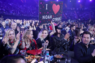 Miley Cyrus Leticia Cyrus iHeartRadio Music Awards - Show