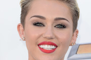 Miley Cyrus Red Lipstick