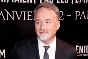 David Fincher attends the 'Millenium: The Girl With The Dragon Tatoo' Paris Premiere at Cinema UGC Normandie on January 3, 2012 in Paris, France.
