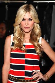 Tinsley Mortimer wore a vivid red nail polish at the Milly by Michelle Smith fall 2012 fashion show.