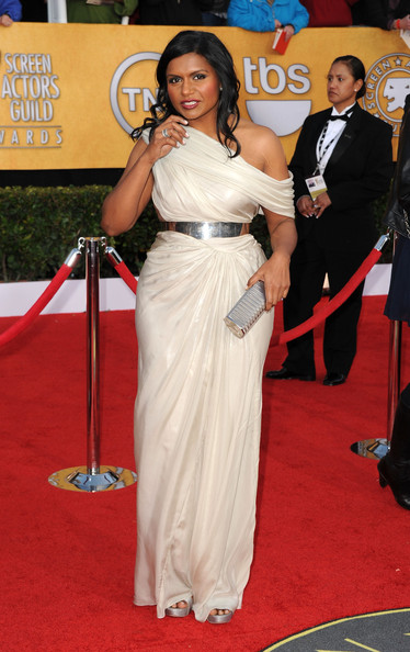 Mindy Kaling Tube Clutch