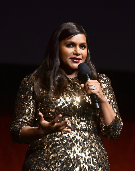 Mindy Kaling Silver Ring