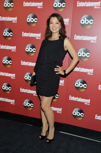 Ming-Na Wen Little Black Dress