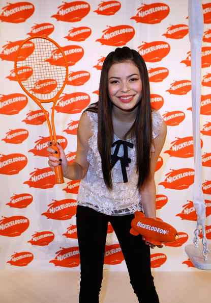 Miranda Cosgrove Half Up Half Down