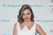 Miranda Kerr Metallic Clutch
