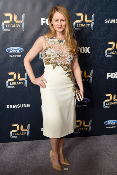 Miranda Otto Beaded Dress