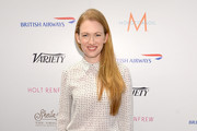 Mireille Enos Button Down Shirt