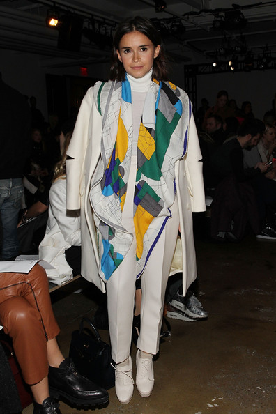 Miroslava Duma Patterned Scarf