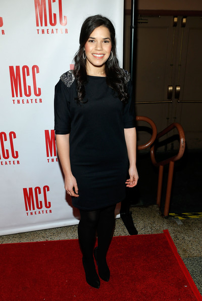 More Pics of America Ferrera Little Black Dress (1 of 6) - America Ferrera Lookbook - StyleBistro