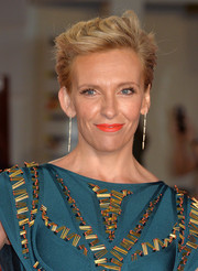 Toni Collette styled her hair into a fauxhawk for the European premiere of 'Miss You Already.'