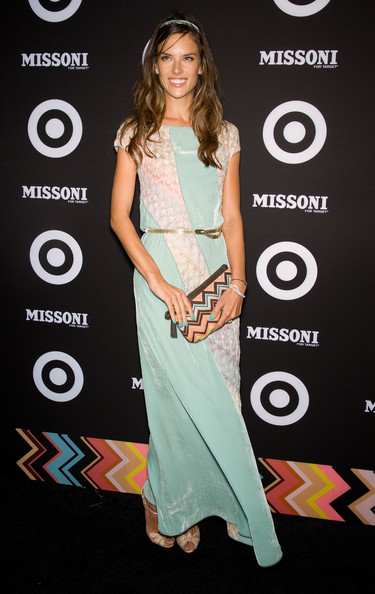 More Pics of Alessandra Ambrosio Metallic Belt (1 of 7) - Alessandra Ambrosio Lookbook - StyleBistro