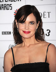 Elizabeth McGovern kept it simple with a short wavy 'do at the Moet British Independent Film Awards.