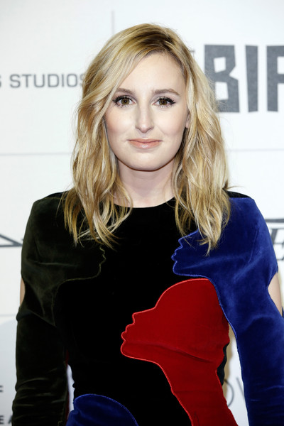 Laura Carmichael wore her hair loose with mussed-up waves at the Moet British Independent Film Awards.